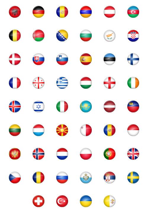 Иконки флагов