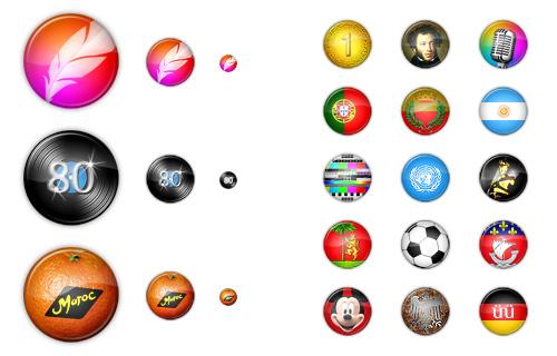 Иконки для Lyrsense.com