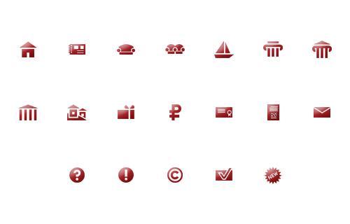 Иконки для MDCreative.ru