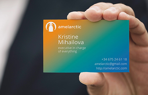 Business card, version 1