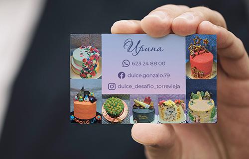 Business card, version 2, back side